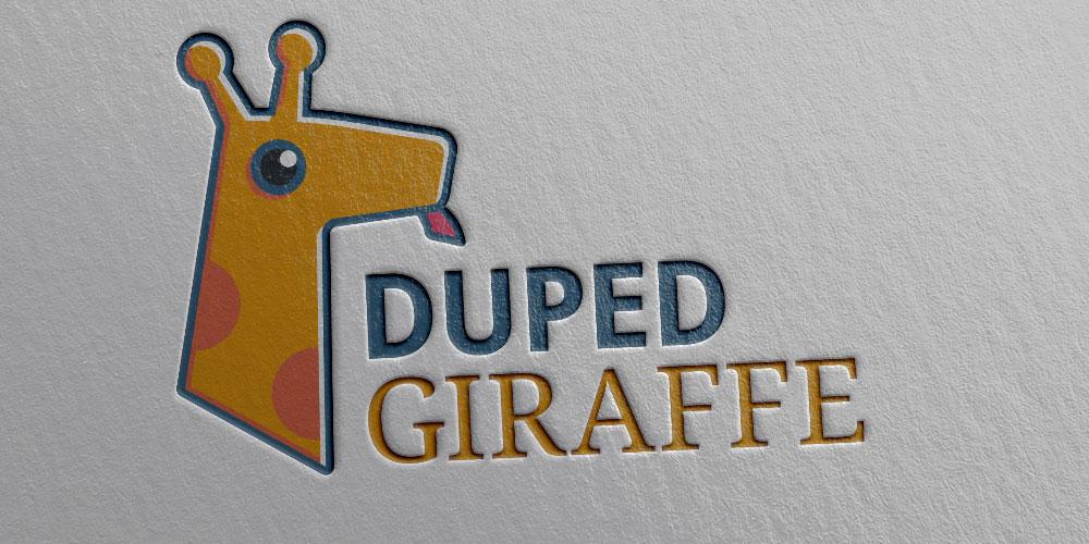 Duped Giraffe Logo Design