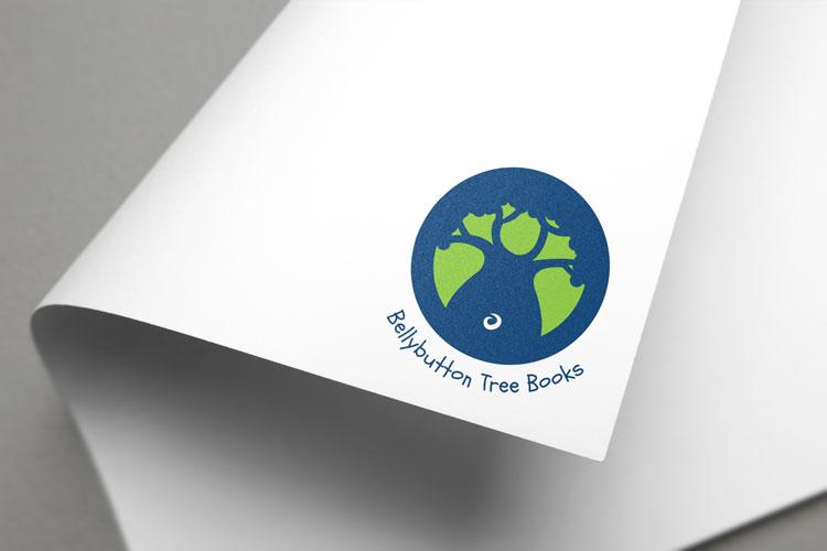 Bellybutton Tree Books Logo Design