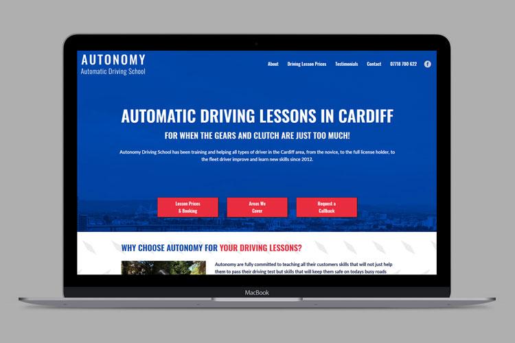 Autonomy Website Design