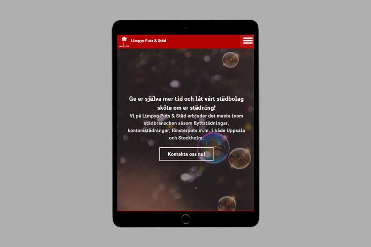 Limpyo Puts & Städ Website Design