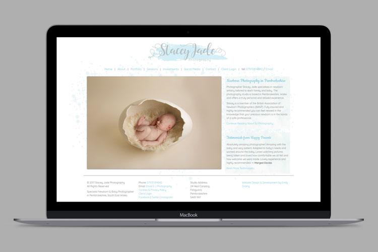 SJ Photography Website Design